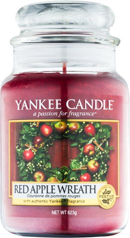 Yankee Candle Red Apple Wreath vonná svíčka 623 g Classic velká