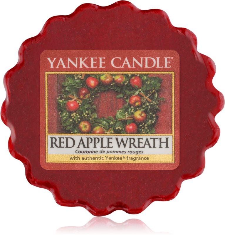 Yankee Candle Red Apple Wreath ceară pentru aromatizator 22 g