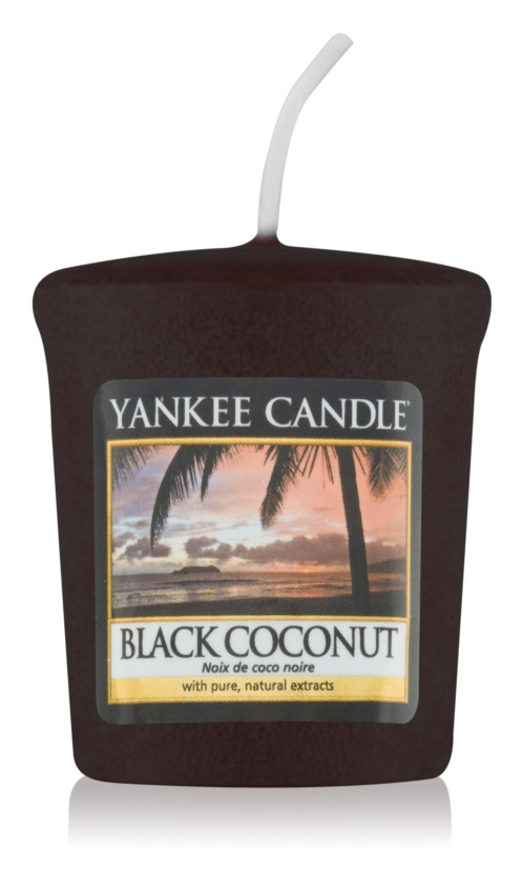 Yankee Candle Black Coconut votívna sviečka 49 g