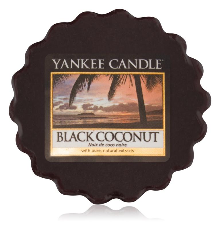 Yankee Candle Black Coconut cera per lampada aromatica 22 g