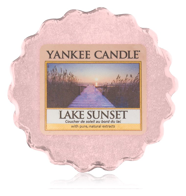 Yankee Candle Lake Sunset Duftwachs für Aromalampe 22 g