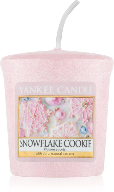 Yankee Candle Snowflake Cookie lumânare votiv 49 g