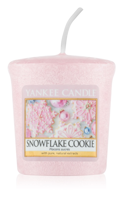Yankee Candle Snowflake Cookie sampler 49 g