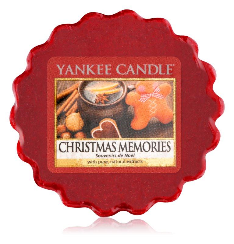 Yankee Candle Christmas Memories illatos viasz aromalámpába 22 g