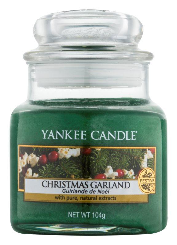 Yankee Candle Christmas Garland lumânare parfumată  104 g Clasic mini