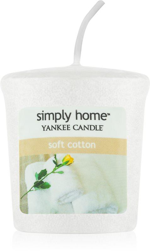 Yankee Candle Soft Cotton Votivkerze 49 g