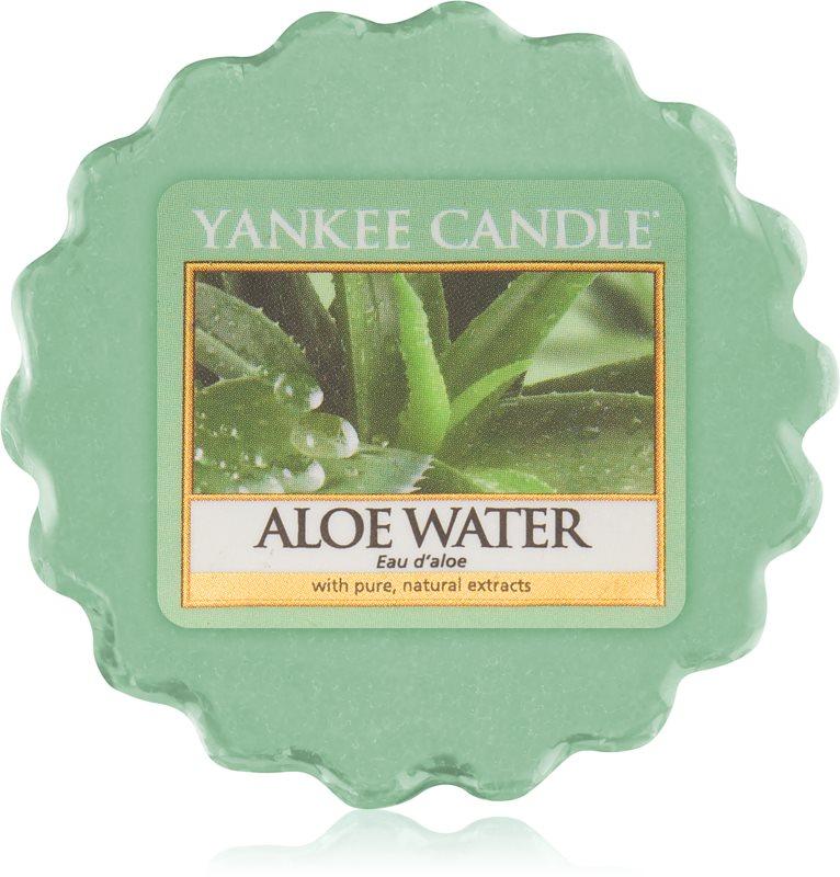 Yankee Candle Aloe Water illatos viasz aromalámpába 22 g