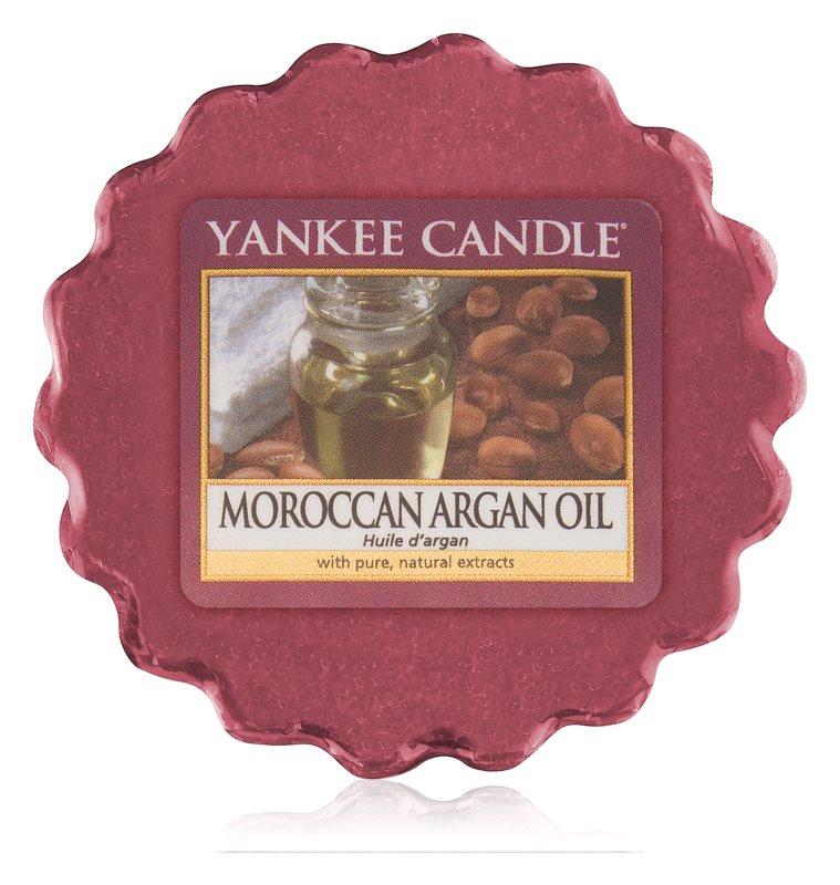 Yankee Candle Moroccan Argan Oil cera para lámparas aromáticas 22 g