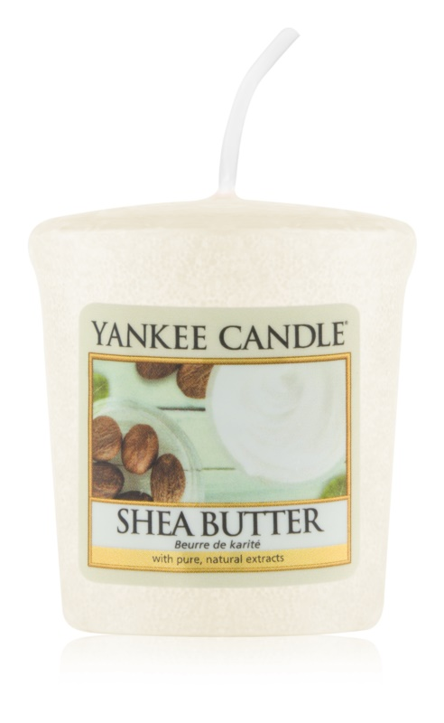 Yankee Candle Shea Butter candela votiva 49 g