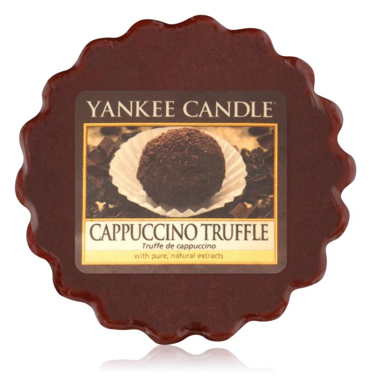 Yankee Candle Cappuccino Truffle ceară pentru aromatizator 22 g