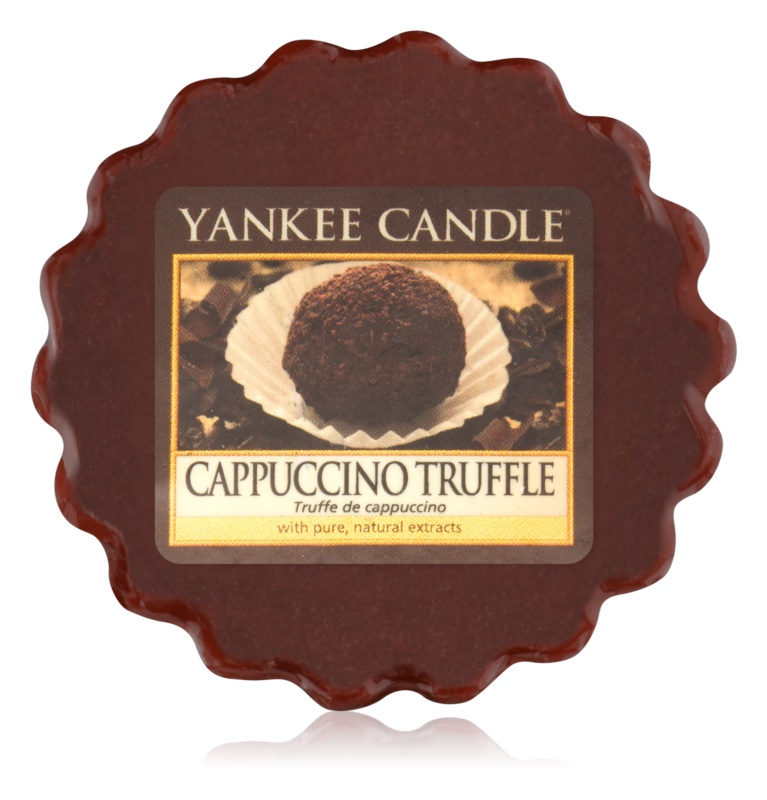 Yankee Candle Cappuccino Truffle Wachs für Aromalampen 22 g
