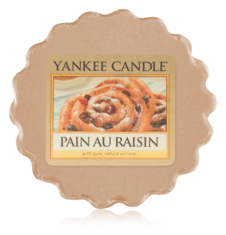 Yankee Candle Pain au Raisin Duftwachs für Aromalampe 22 g
