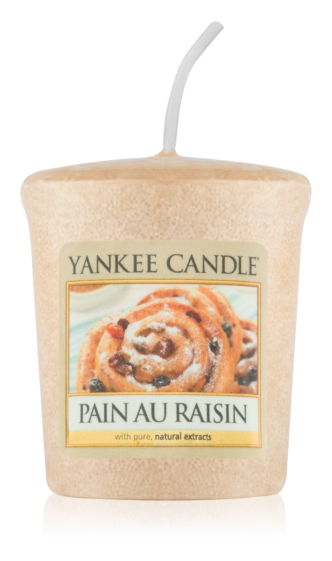 Yankee Candle Pain au Raisin votívna sviečka 49 g