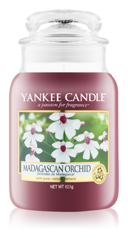Yankee Candle Madagascan Orchid vonná svíčka 623 g Classic velká