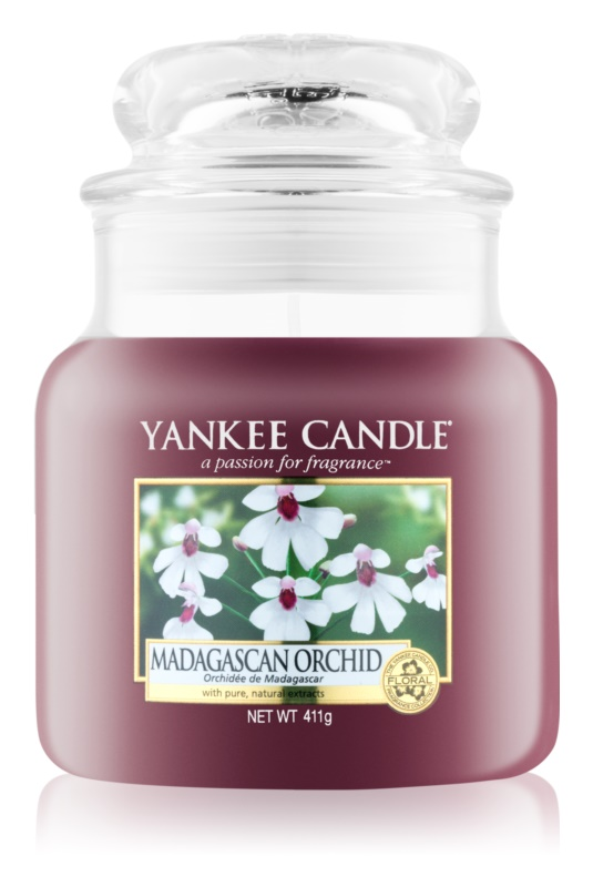 Yankee Candle Madagascan Orchid Scented Candle 411 g Classic Medium