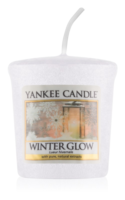 Yankee Candle Winter Glow votívna sviečka 49 g