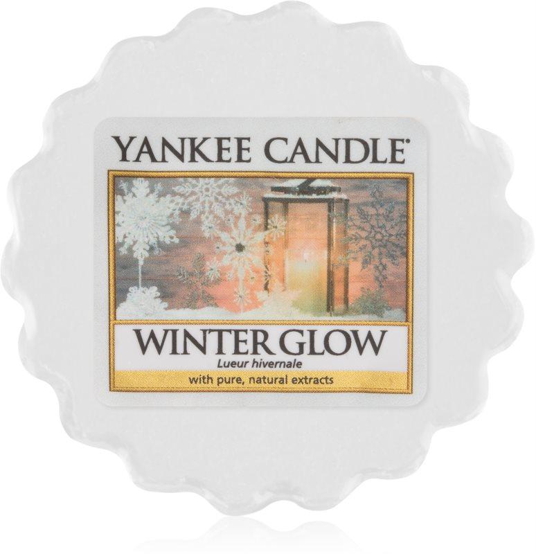Yankee Candle Winter Glow κερί για αρωματική λάμπα 22 γρ