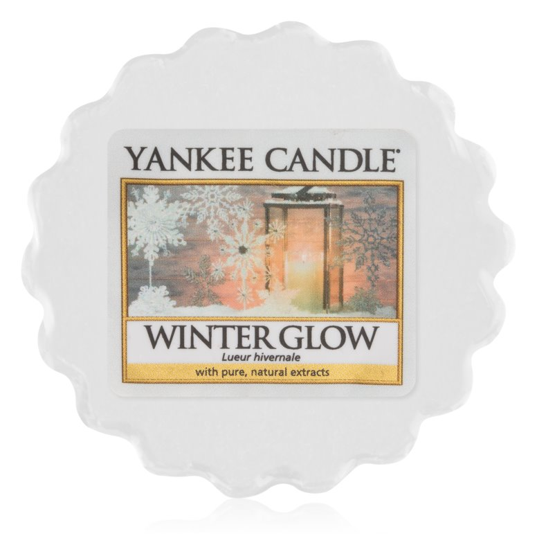 Yankee Candle Winter Glow vosk do aromalampy 22 g