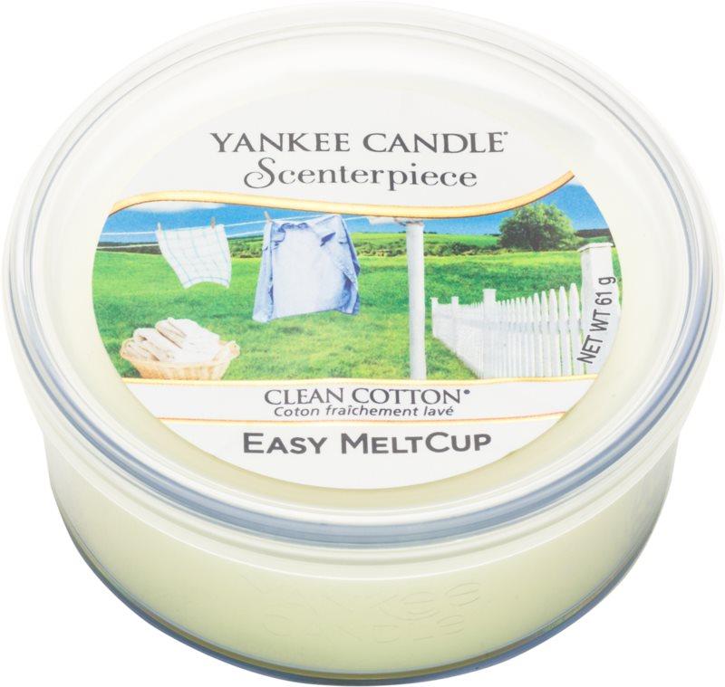 Yankee Candle Scenterpiece  Clean Cotton cera per lampada aromatica elettrica 61 g