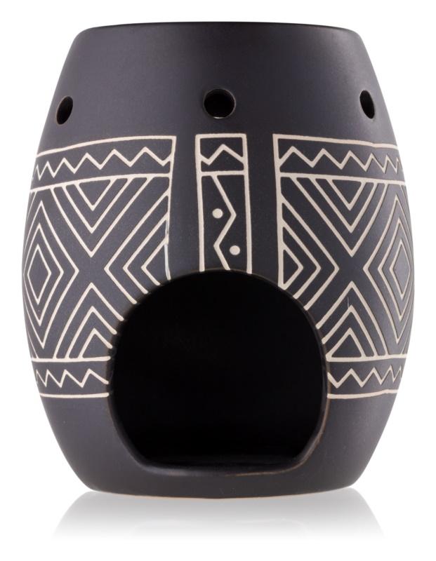 Yankee Candle African Etched lampada aromatica in ceramica