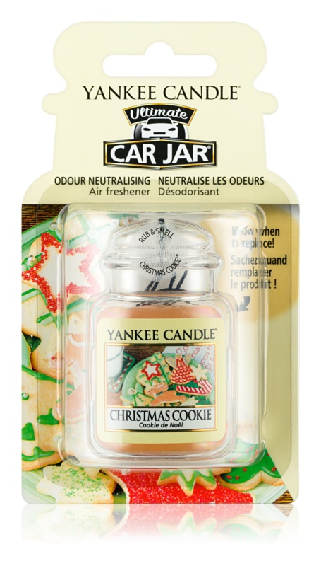 Yankee Candle Christmas Cookie vůně do auta   závěsná