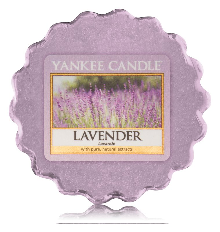 Yankee Candle Lavender illatos viasz aromalámpába 22 g