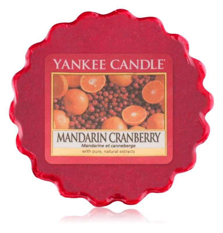 Yankee Candle Mandarin Cranberry illatos viasz aromalámpába 22 g