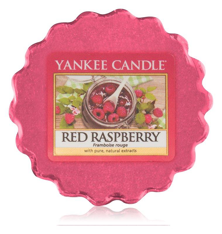 Yankee Candle Red Raspberry восък за арома-лампа  22 гр.