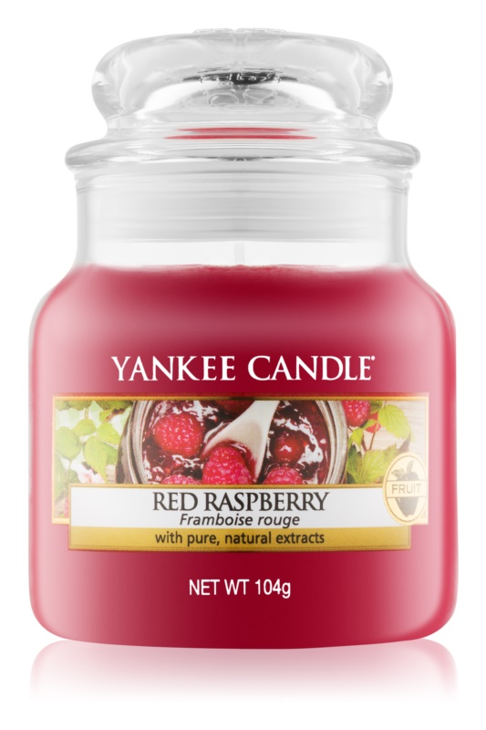 Yankee Candle Red Raspberry bougie parfumée 104 g Classic petite