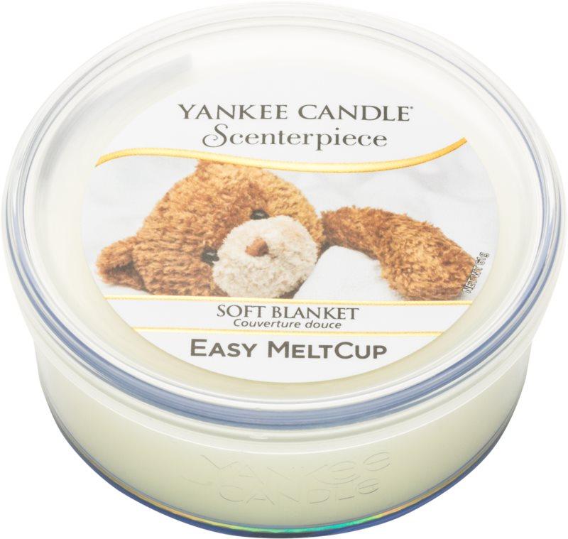 Yankee Candle Scenterpiece  Soft Blanket cera per lampada aromatica elettrica 61 g