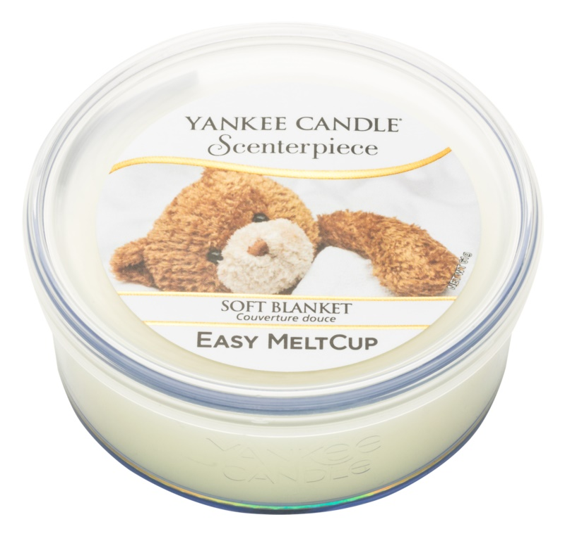 Yankee Candle Scenterpiece  Soft Blanket cire pour brûleur à tartelette électrique 61 g