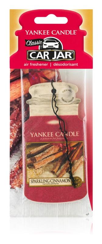 Yankee Candle Sparkling Cinnamon ambientador para coche
