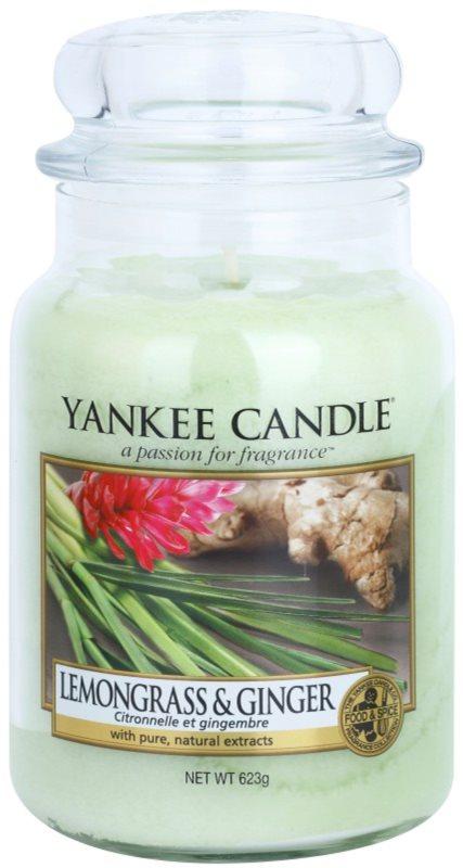 Yankee Candle Lemongrass & Ginger Geurkaars 623 gr Classic Large