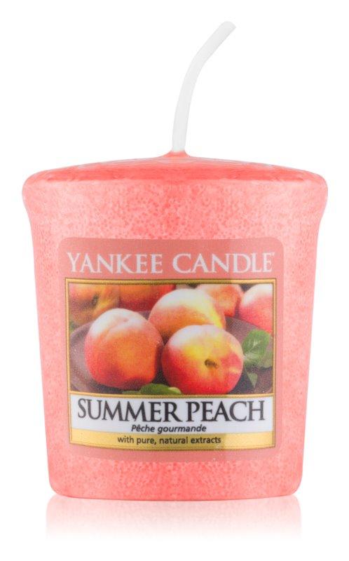Yankee Candle Summer Peach Votiefkaarsen 49 gr