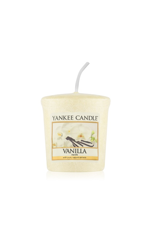Yankee Candle Vanilla votívna sviečka 49 g
