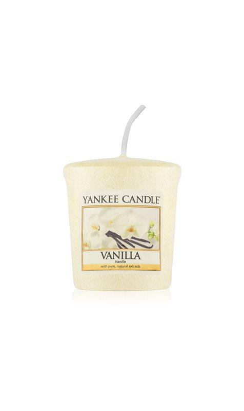 Yankee Candle Vanilla votivní svíčka 49 g