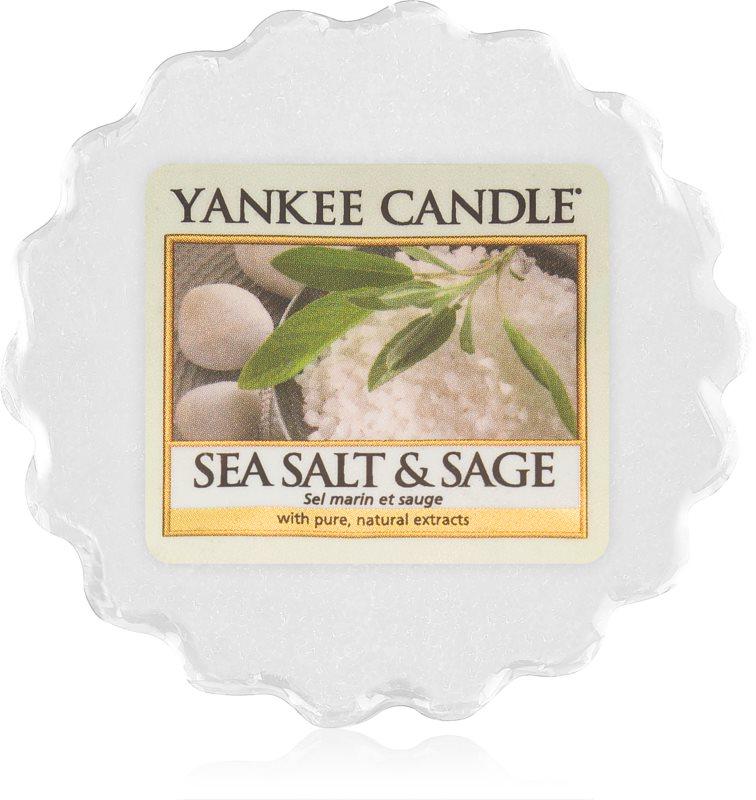 Yankee Candle Sea Salt & Sage illatos viasz aromalámpába 22 g