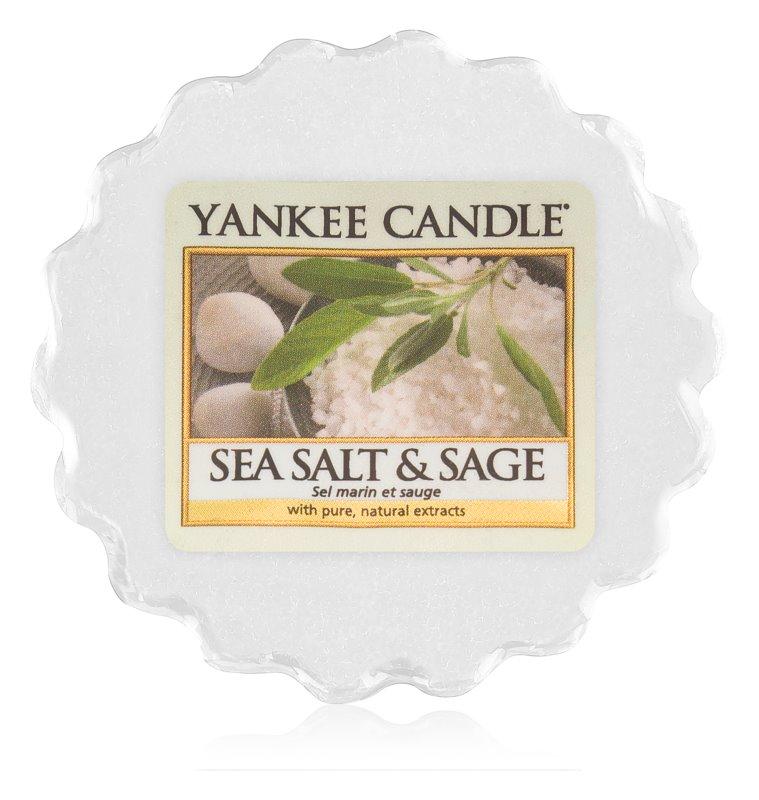 Yankee Candle Sea Salt & Sage tartelette en cire 22 g