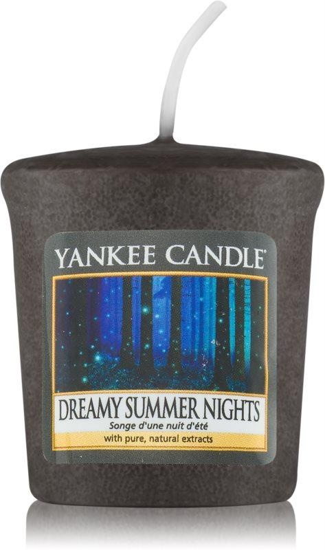 Yankee Candle Dreamy Summer Nights candela votiva 49 g