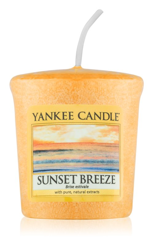 Yankee Candle Sunset Breeze candela votiva 49 g