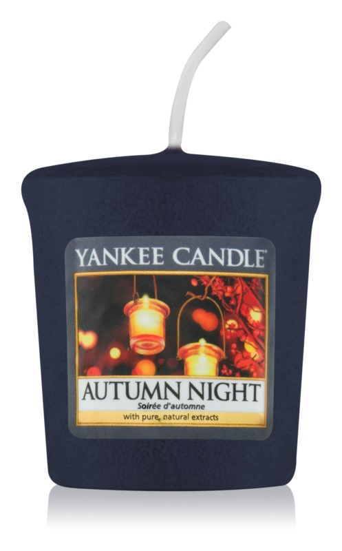 Yankee Candle Autumn Night bougie votive 49 g
