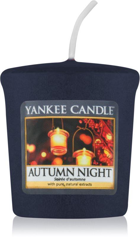 Yankee Candle Autumn Night vela votiva 49 g