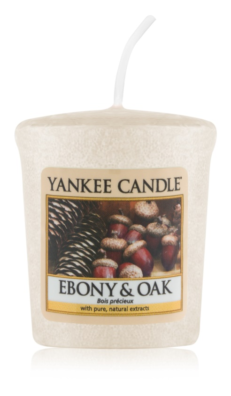 Yankee Candle Ebony & Oak viaszos gyertya 49 g