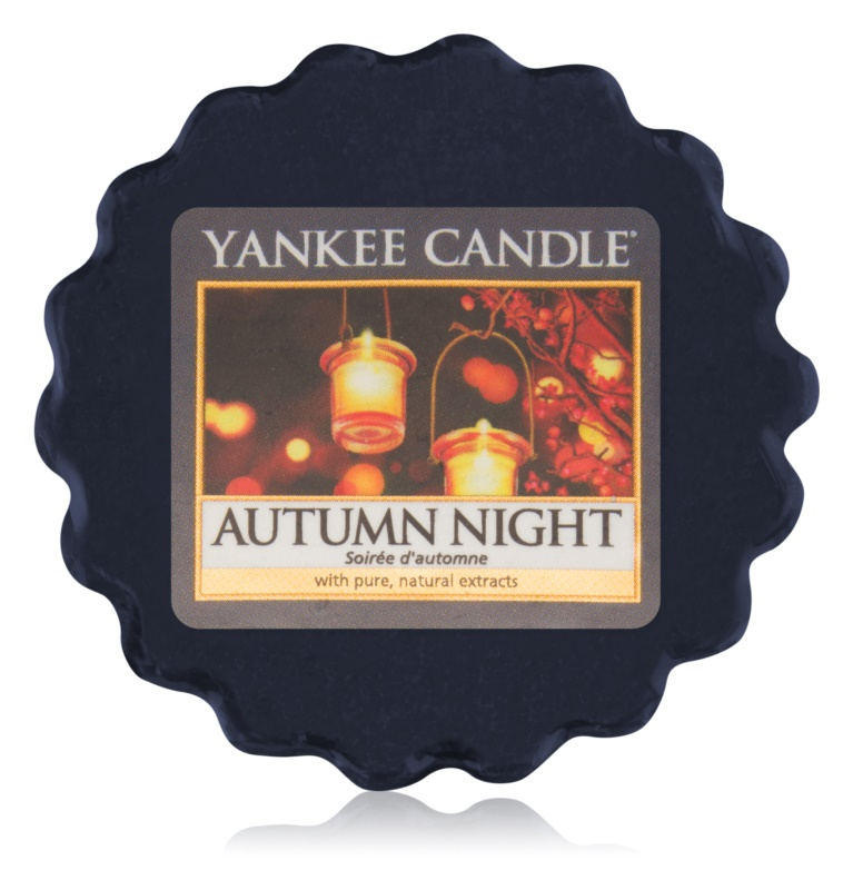 Yankee Candle Autumn Night wosk zapachowy 22 g