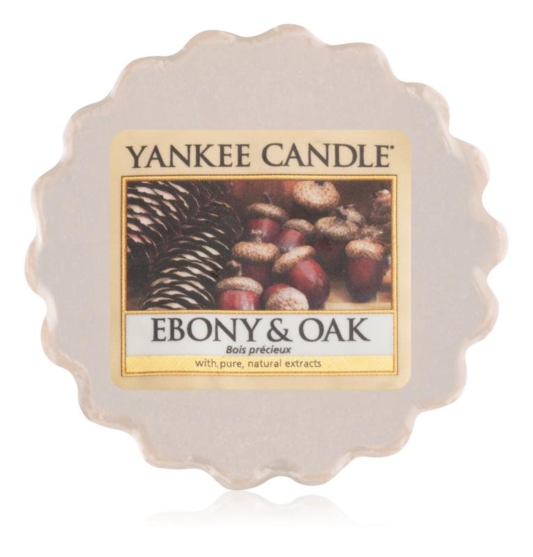 Yankee Candle Ebony & Oak cera para lámparas aromáticas 22 g