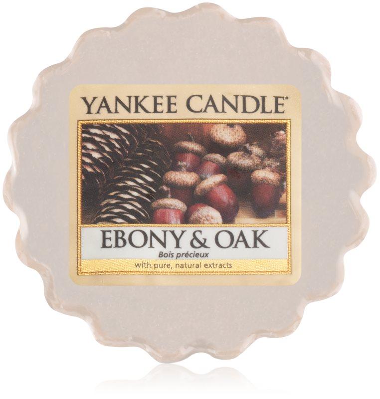 Yankee Candle Ebony & Oak tartelette en cire 22 g