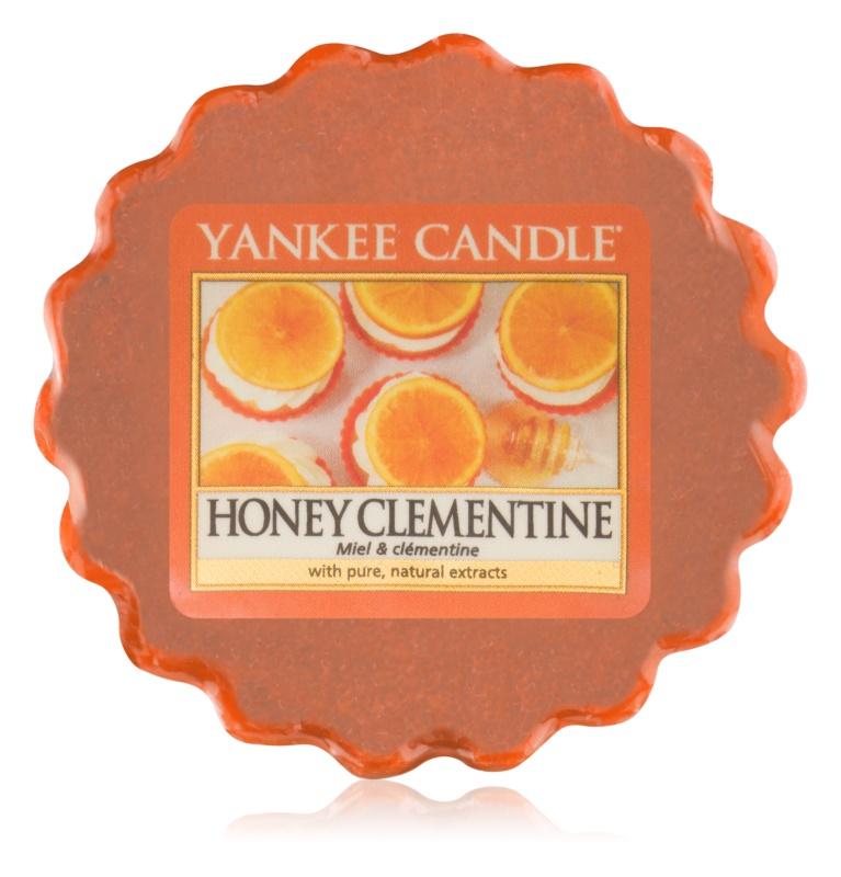 Yankee Candle Honey Clementine cera para lámparas aromáticas 22 g