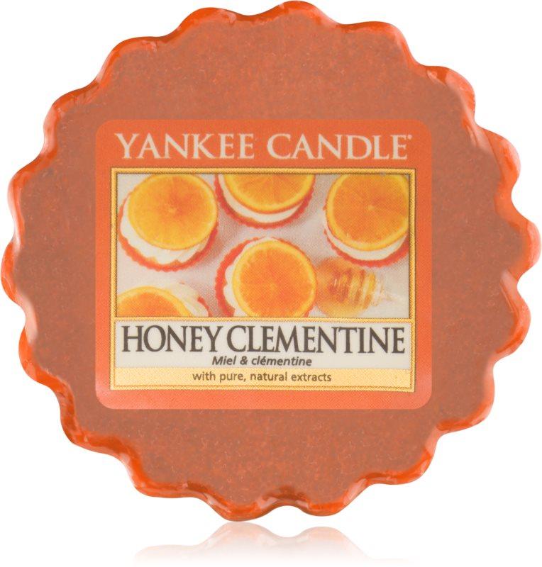 Yankee Candle Honey Clementine illatos viasz aromalámpába 22 g