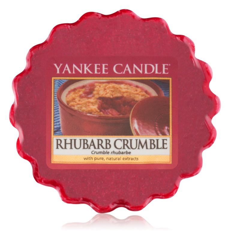 Yankee Candle Rhubarb Crumble cera derretida aromatizante 22 g