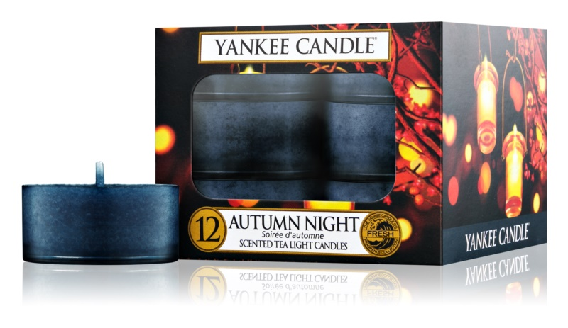 Yankee Candle Autumn Night Tealight Candle 12 pc